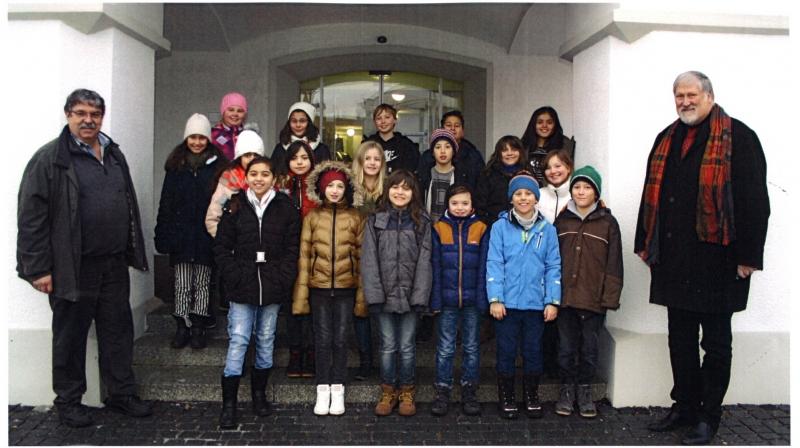 Rathausbesuch 4a 2