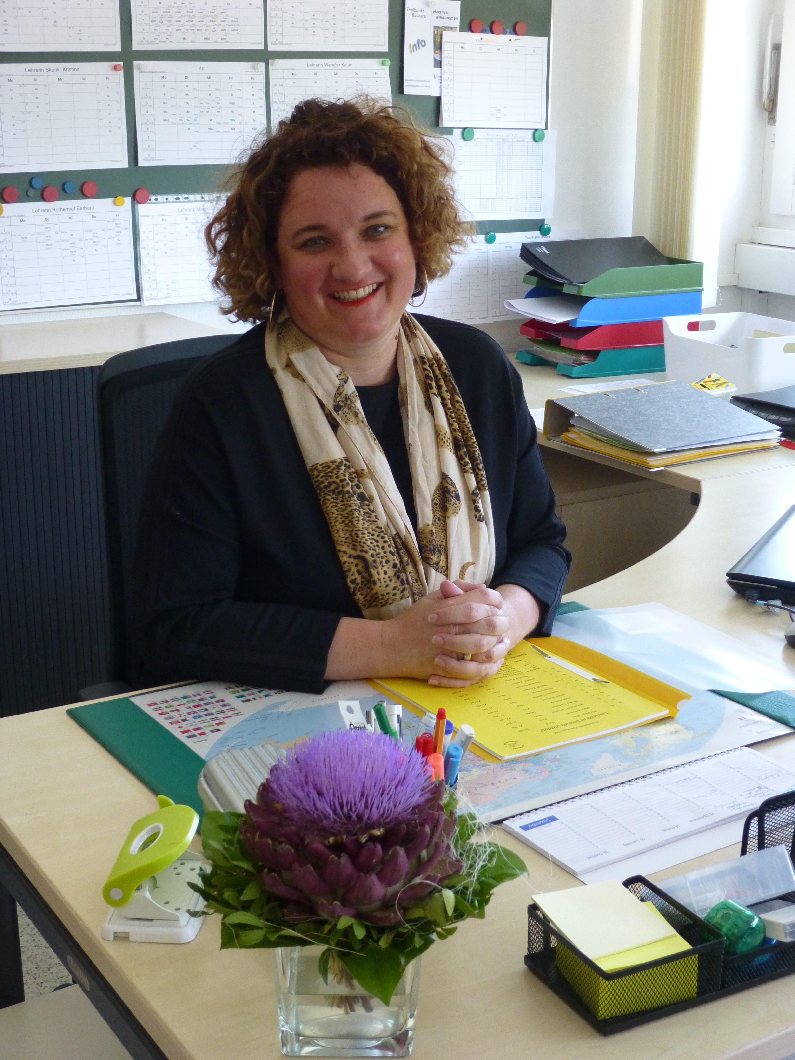 Christine Holzwarth : Stellvertretende Schulleiterin